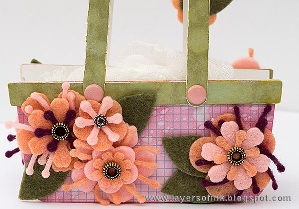 Layers of ink - Heartfelt Sizzix with Kunin Felt Tutorial by Anna-Karin