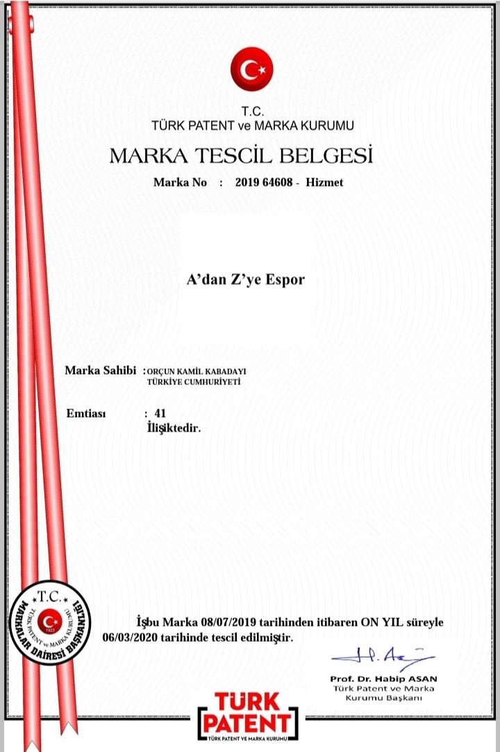 AZES Marka Tescili