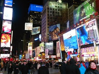 New York Times Square - Beautiful at Night!