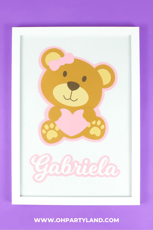 teddy-bear-wall-art