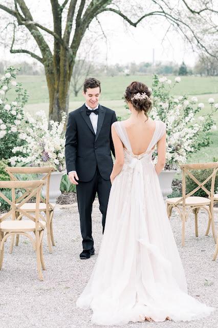 Bridgerton Inspired Whimsical Spring Wedding at Blue Bell Farms | St. Louis Fine Art Wedding Photo & Video