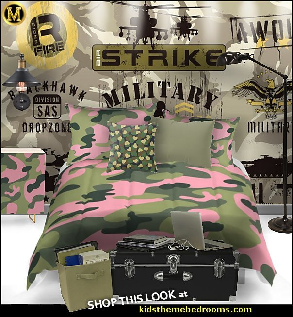 Decorating theme bedrooms - Maries Manor: Army bedroom ideas ...