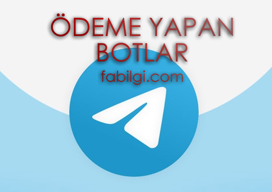 Ödeme Yapan Telegram Botları Tanıtım Görev Yap Kazan 2021
