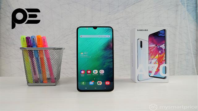 مواصفات و عيوب موبيل سامسونج Samsung Galaxy A70