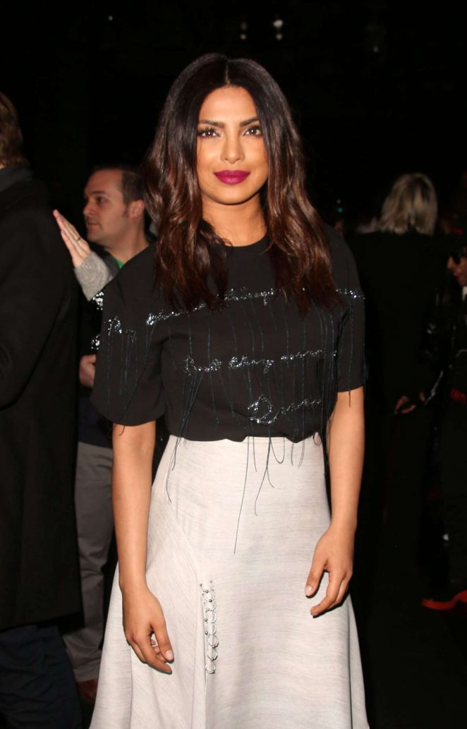 Indian Actress Priyanka Chopra 2017 Stills In New York City