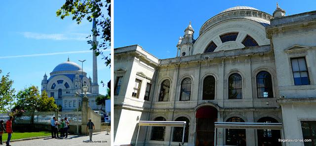 mesquita do Palácio de Dolmabahçe