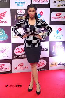 Actress Mannara Chopra Pictures at Mirchi Music Awards South 2015  0047