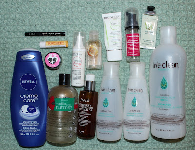 July 2017 Empties