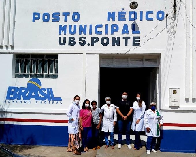 SAÚDE – Prefeitura entrega Consultório Odontológico da UBS do bairro Ponte