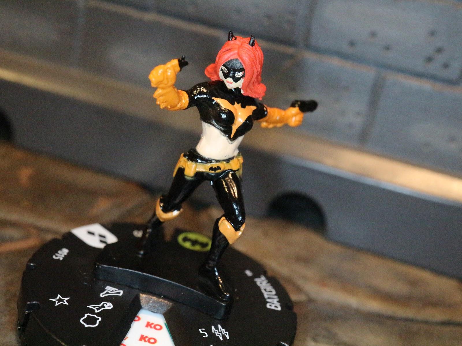 WizKids DC Heroclix Harley Quinn Gotham Girls 015 Thrillkiller Batgirl