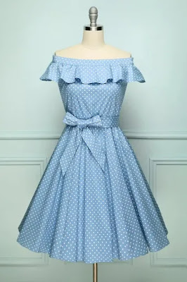 https://zapaka.com.au/collections/swing/products/off-shoulder-polka-dots-dress