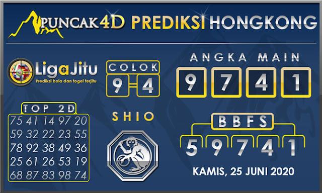 PREDIKSI TOGEL HONGKONG PUNCAK4D 25 JUNI 2020