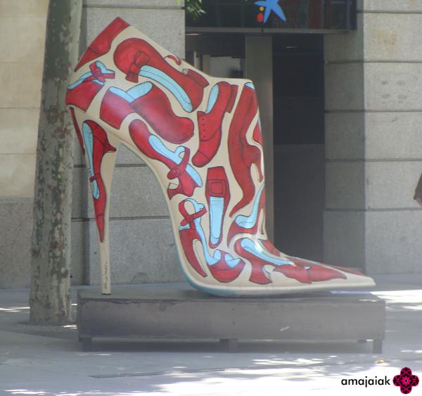MI MUNDO AMAJAIAK  SHOE STREET ART ff402f1890a59