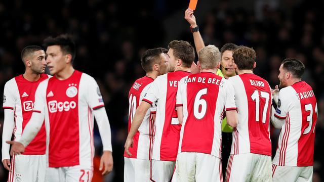 ثمانية اهداف حصيلة مباراة مثيرة جمعت أياكس الهولندي و تشيلسي الانجليزي في دوري أبطال أوروبا