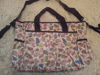 nappy bag, baby changing bag, little bird nappy bag