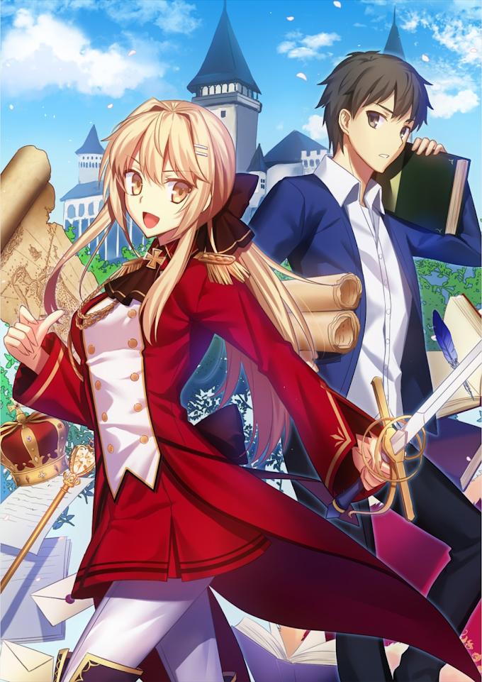 Light Novel 'Genjitsu Shugi Yuusha no Oukoku Saikenki' Dapatkan Adaptasi Anime