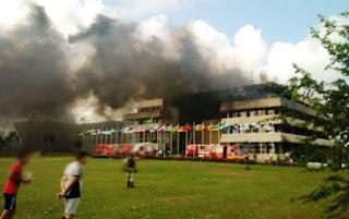 Incêndio na Assembleia Legislativa