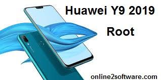 طريقة عمل  روت Huawei Y9 2019