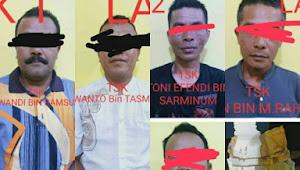 Hot News ! Sedang Main Judi Remi, 8 Pelaku Ditangkap Satreskrim Polres Kerinci