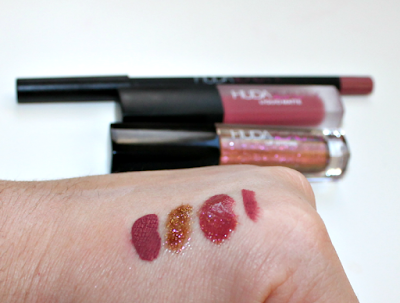 huda beauty liquid matte swatch