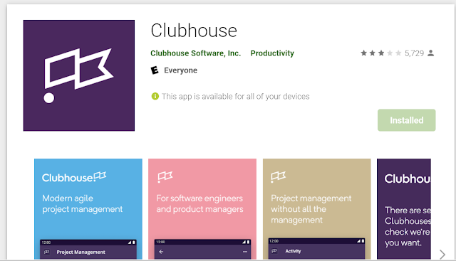 تحذير من تطبيقClubhouse - Clubhouse app للأندرويد