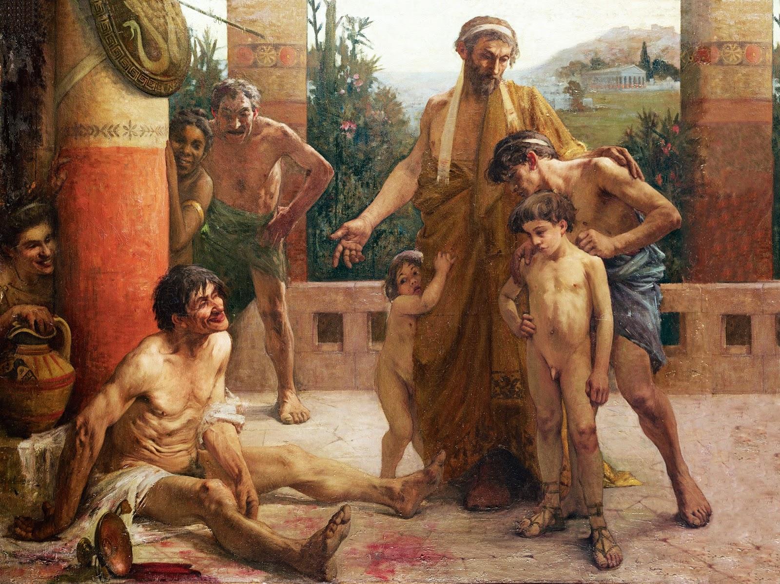 esclavitud en la antigua grecia, esparta