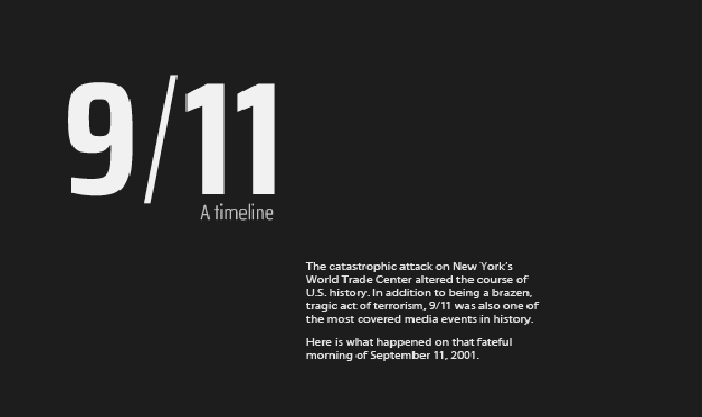 A look back at the 9/11 incident