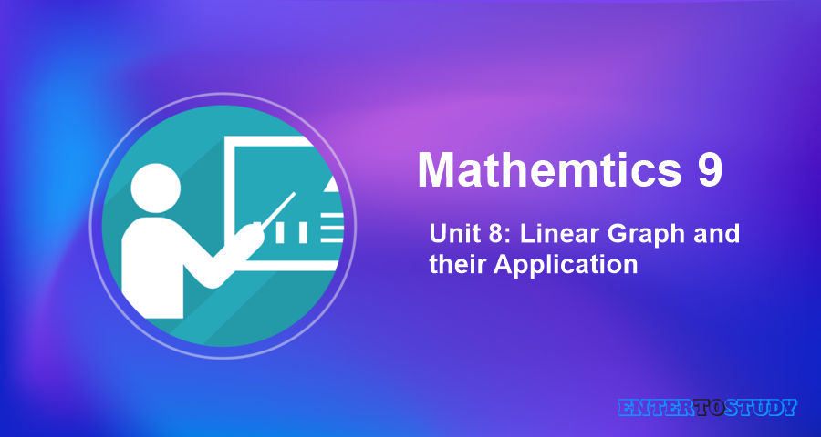 Mathematics 9th Unit 8: Linear Graph and their Application