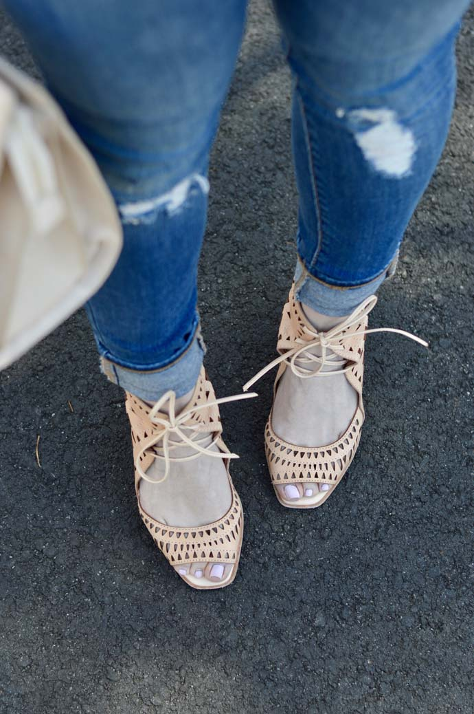 Perforated Wedge Shoes @rachmccarthy7