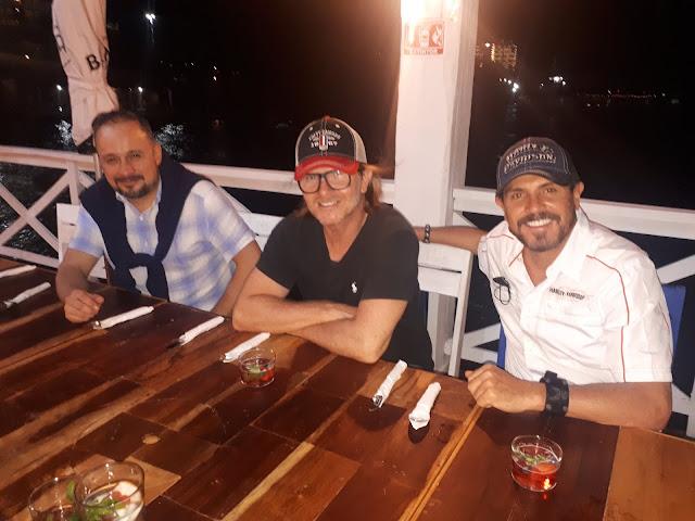 Adalberto Antopia, Jose Maria Pastor y Carlos Patiño