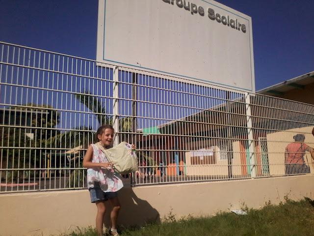 Guyane, Kourou, école Emile Nezès