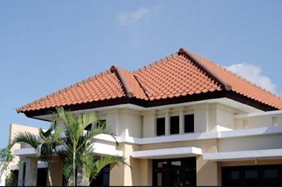 Model atap rumah minimalis perisai