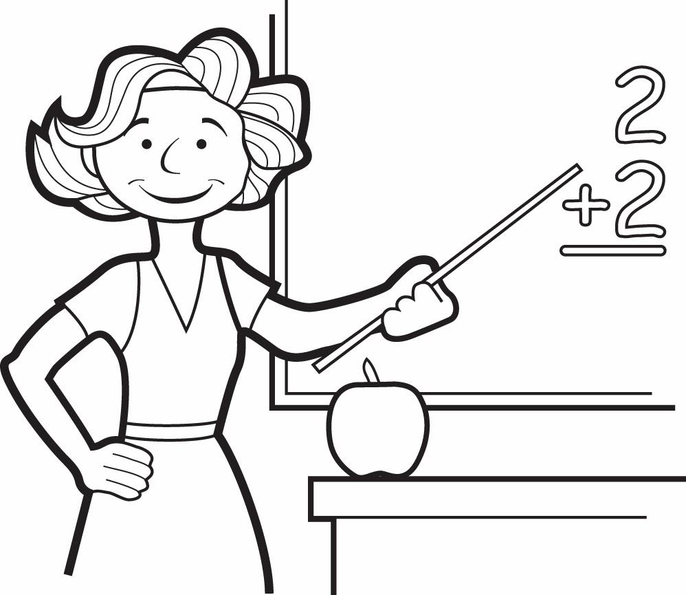 teachers coloring pages - blog professor zezinho desenhos dia do professor para