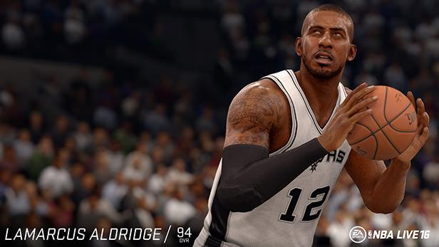 NBA Live 16 LaMarcus Aldridge