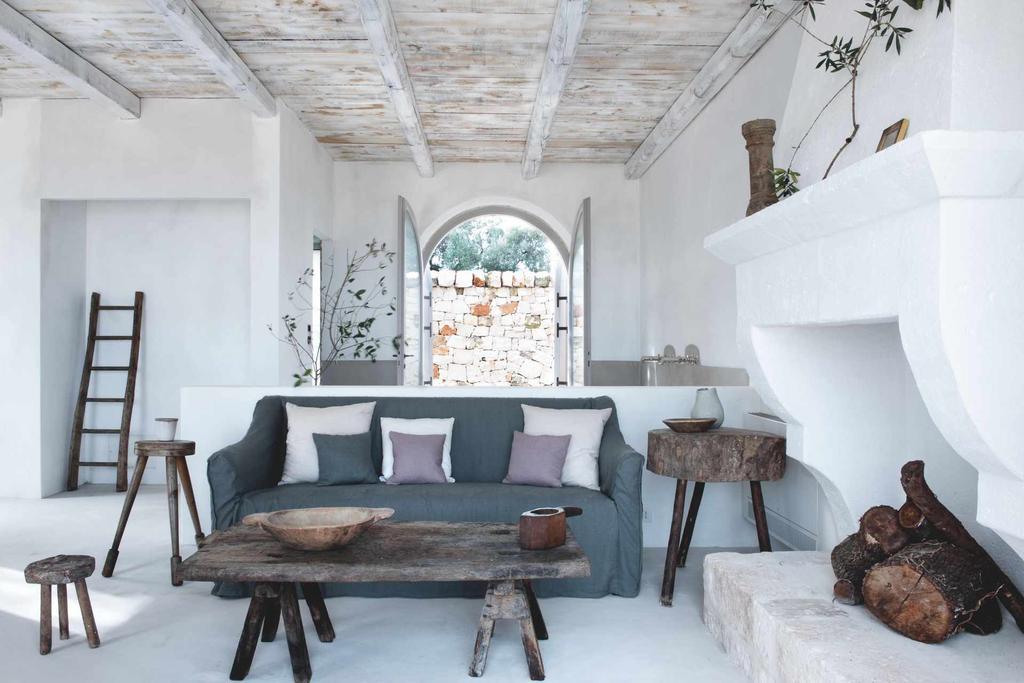 The revival of a rustic Italian farmhouse in Puglia, Italy
