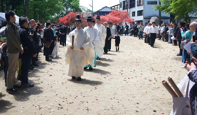 Aiki Jinja Taisai at Kasama-shi (old Iwama-cho)