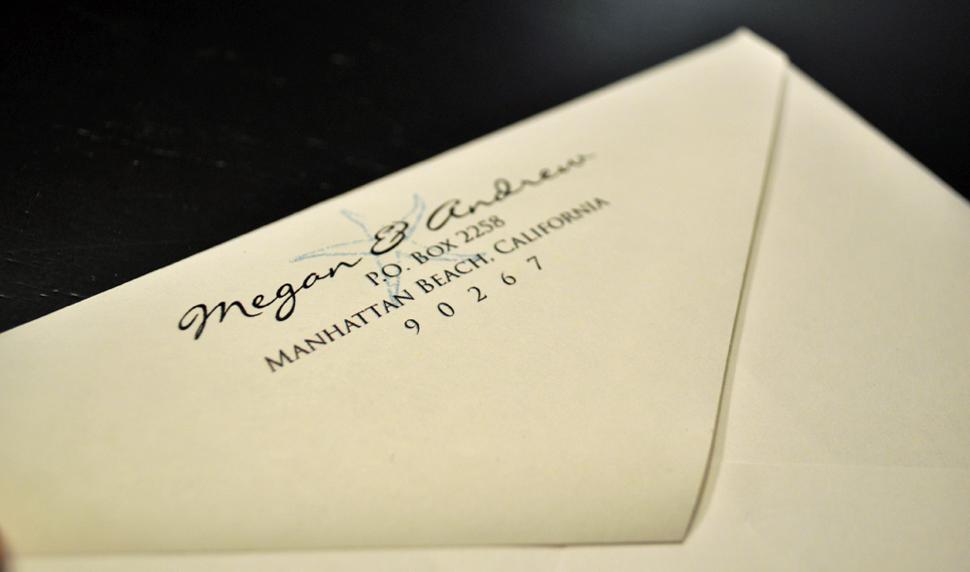 Return Labels For Wedding Invitations: The Blog: Envelope Garnish