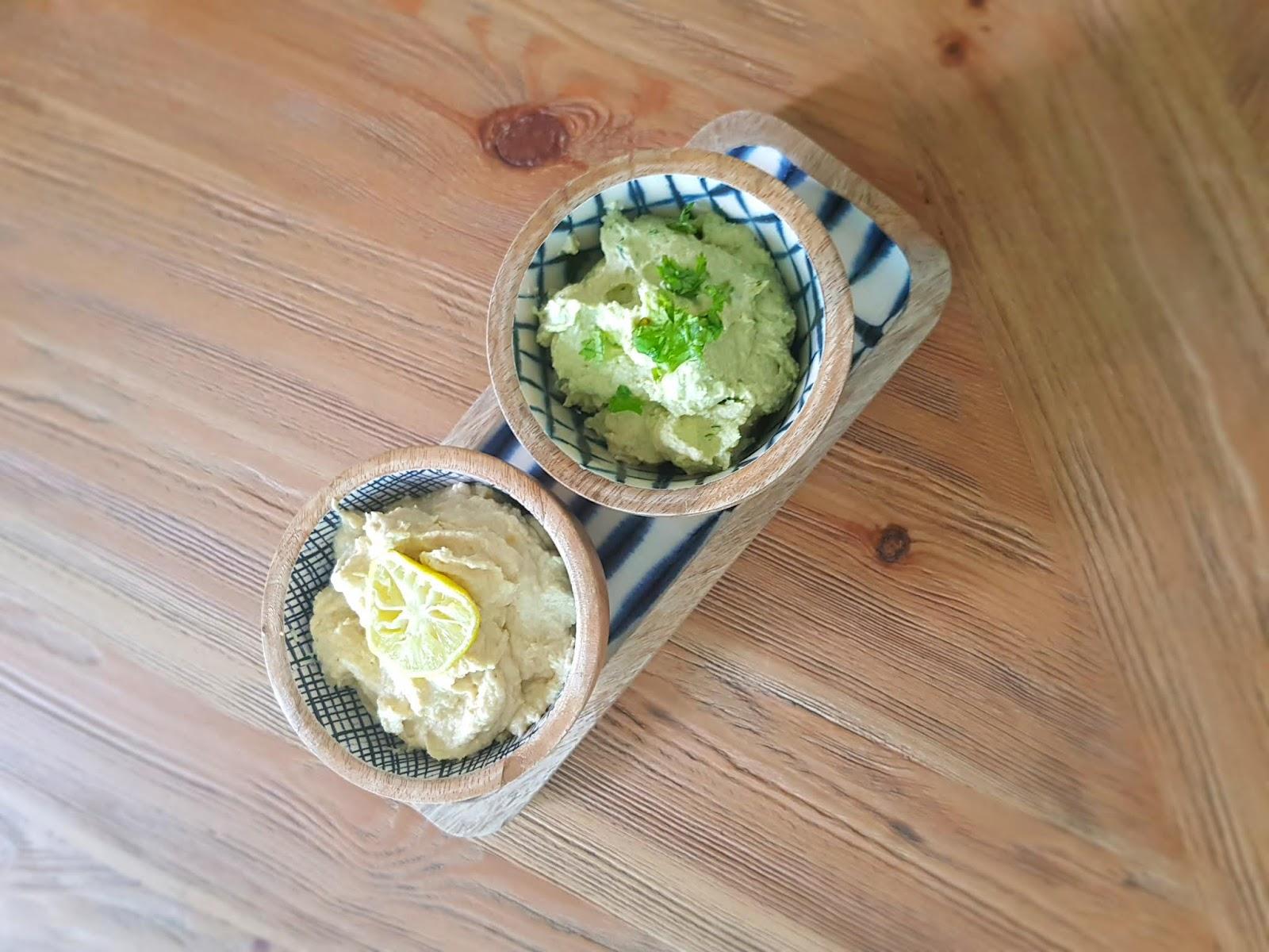 Vegan quinoa cutlet with hummus - High protein lunch - vegan protein recipe