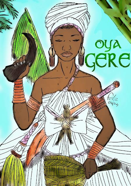 Resultado de imagem para Oya Guere