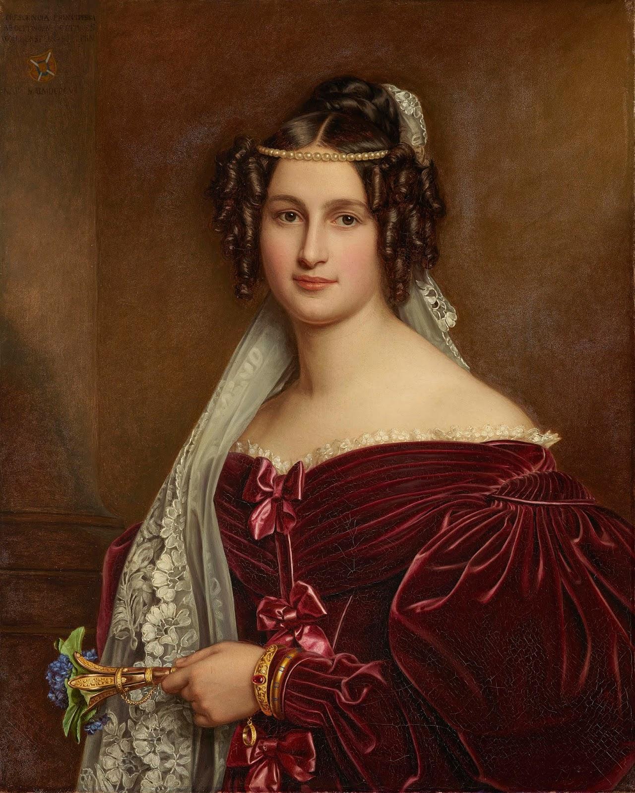 Paintings by Joseph Karl Stieler (1781-1858)