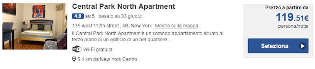Central Park North Apartment