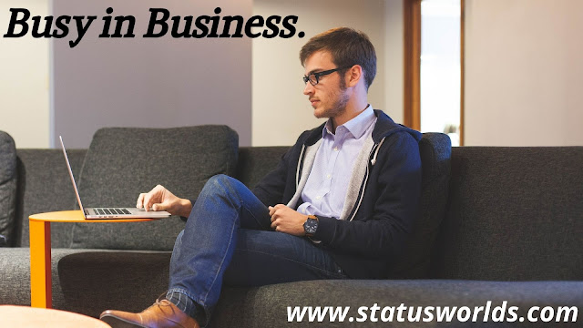 Busy Status and Quotes