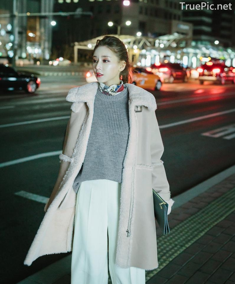 Korean Fashion Model - Kim Jung Yeon - Winter Sweater Collection - TruePic.net - Picture 9