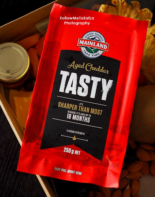 Tasty, is a cheddar aged up to 18 months