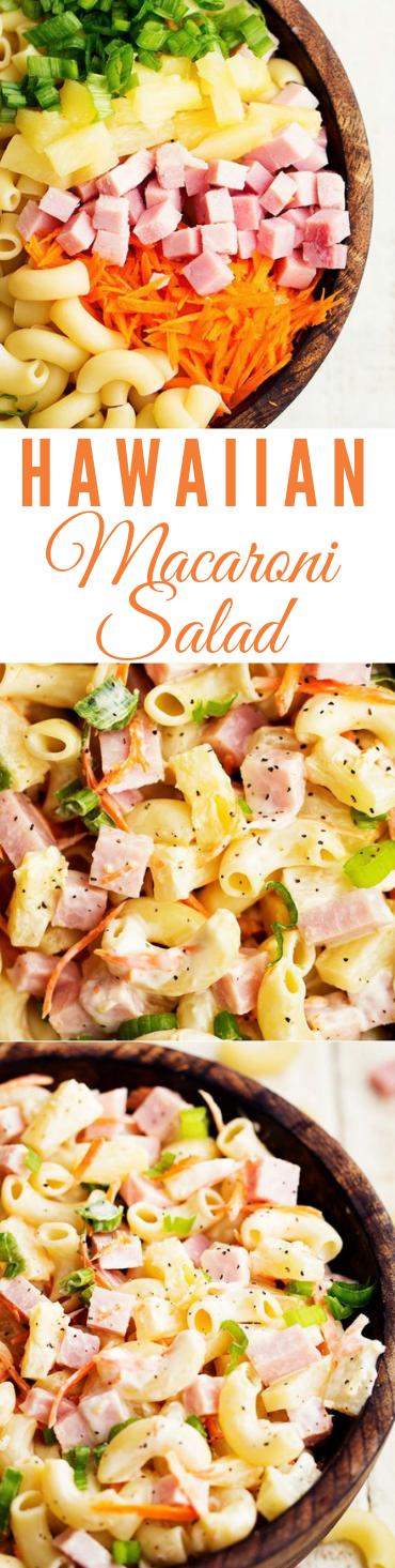 HAWAIIAN MACARONI SALAD #salad #vegan