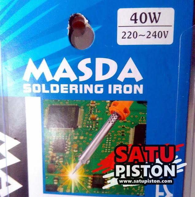 Review Solder Masda DS40N 40W