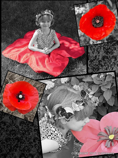 Poppy Petal Skirt by Craftiments
