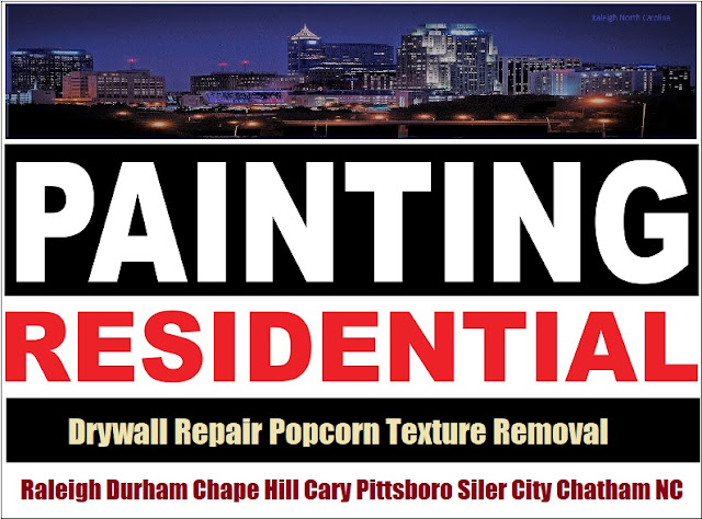 Google+ Collections Popcorn Texture Removal Scraping Contractor Chatham County NC