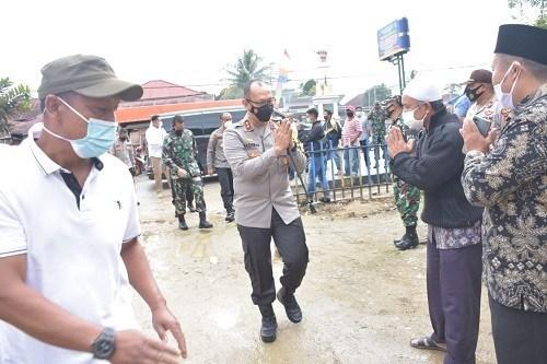 Kapolda Jambi Bersilaturahmi dengan Tokoh Masyarakat Kerinci
