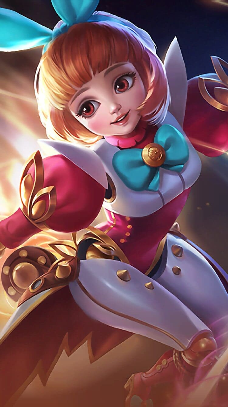 Angela Bunnylove Wallpaper Mobile Legends HD for Mobile